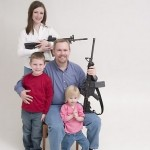 Funny people with guns