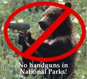 Bear Handgun Guns In Parks