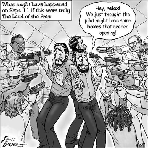 Funny Comics with Guns